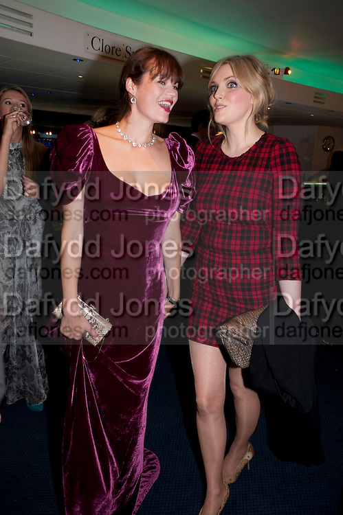JASMINE GUINNESS; SOPHIE DAHL, GQ Men of the Year awards. The royal Opera House. Covent Garden. London. 6 September 2011. <br /> <br />  , -DO NOT ARCHIVE-© Copyright Photograph by Dafydd Jones. 248 Clapham Rd. London SW9 0PZ. Tel 0207 820 0771. www.dafjones.com.