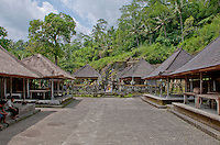 The temple complex at Gunung Kawi, Gianyar Regency, Bali, Indonesia