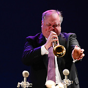 Kenny Rampton performs with Wynton Marsalis and the Jazz at Lincoln Center Orchestra at The Music Hall in Portsmouth, NH. June, 2013