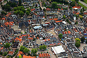 Nederland, Overijssel, Ommen, 30-06-2011.Centrum van Ommen. Center of the village of Ommen. Luchtfoto (toeslag), aerial photo (additional fee required).copyright foto/photo Siebe Swart