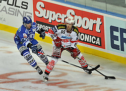 21.01.2011., Zagreb, Croatia - Arena Ice Fever, EBEL league, Medvescak - Klagenfurt. Herburger Raphael. EXPA Pictures © 2010, PhotoCredit: EXPA/ nph/ Pixsell +++++ ATTENTION - OUT OF GERAMANY / GER, CROATIA / CRO, SWEDEN / SWE +++++
