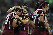 July 6th 2011:  during game 3 of the 2011 State of Origin series at Suncorp Stadium in Brisbane, QLD, Australia on July 6, 2011. Photo by Matt Roberts / mattrimages.com.au / QRL