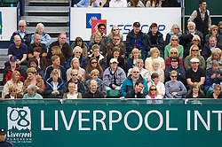 Liverpool, England - Saturday, June 16, 2007: Fans and corporate boxes on day five of the Liverpool International Tennis Tournament at Calderstones Park. For more information visit www.liverpooltennis.co.uk. (Pic by David Rawcliffe/Propaganda)