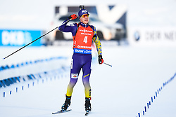 March 10, 2019 - –Stersund, Sweden - 190310 Dmytro Pidruchnyi of Ukraine celebrates during the Men's 12,5 km Pursuit during the IBU World Championships Biathlon on March 10, 2019 in Östersund..Photo: Petter Arvidson / BILDBYRÃ…N / kod PA / 92255 (Credit Image: © Petter Arvidson/Bildbyran via ZUMA Press)