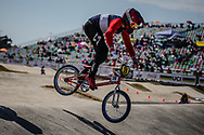 13 Boys #28 (BEAUCAMP Simon) FRA at the 2018 UCI BMX World Championships in Baku, Azerbaijan.