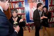 NICHOLAS BRIDGEMAN-BAKER; CHRISTIANE KUBRICK; DUNCAN BROOKER; NANCY RYAN, Stanley Kubrick's Napoleon. The Greatet Movie Never Made. Book launch.  Published by Taschen. Launch held at Kubrick's family home Childwickbury House. Harpenden. 8 December 2009