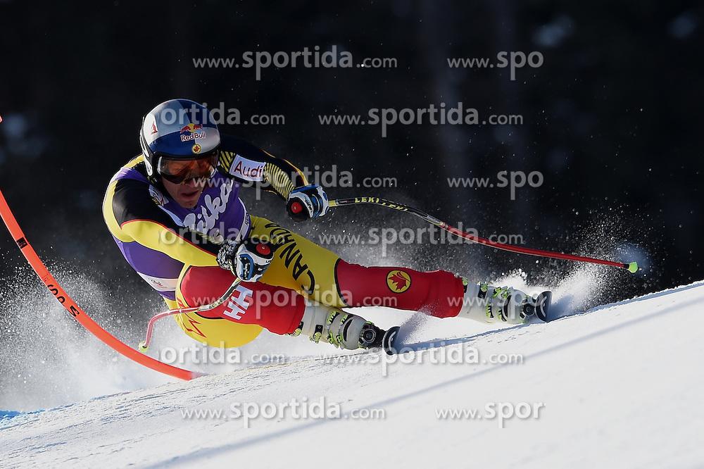 12.03.2016, Olympiabakken, Kvitfjell, NOR, FIS Weltcup Ski Alpin, Kvitfjell, Abfahrt, Herren, im Bild Erik Guay (CAN) // Erik Guay of Canada competes during his run for the men's Downhill of Kvitfjell FIS Ski Alpine World Cup at the Olympiabakken in Kvitfjell, Norway on 2016/03/12. EXPA Pictures © 2016, PhotoCredit: EXPA/ Jonas Ericsson
