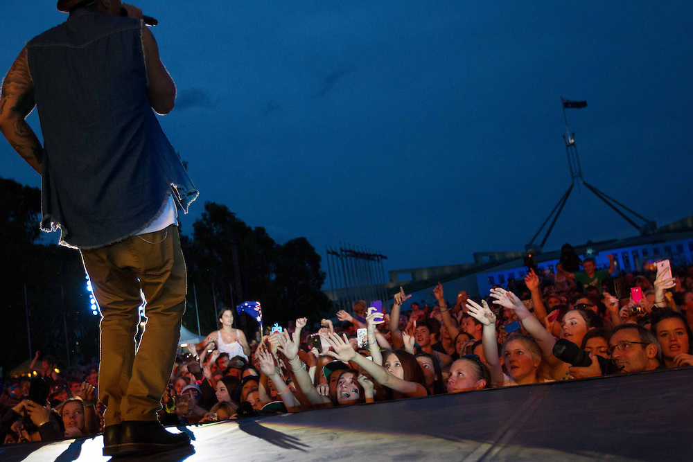 Guy Sebastion - Australia Celebrates Concert 2013, Canberra