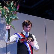 NLD/Haarlem/20171230 - Uitreiking Mary Dresselhuysprijs 2017 aan Steef de Jong door Merel Laseur