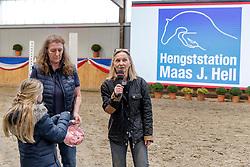 Verlosung Deckgutscheine<br /> Klein Offenseth - Hengstschau Stall Hell 2020<br /> © www.sportfotos-lafrentz.de/Stefan Lafrentz