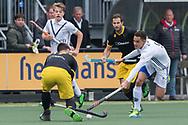 Den Bosch - Den Bosch - Pinoke Heren, Hoofdklasse Hockey Heren, Seizoen 2017-2018, 29-04-2018, Den Bosch - Pinoke 5-1,  Camil Papa (Pinoke)<br /> <br /> (c) Willem Vernes Fotografie