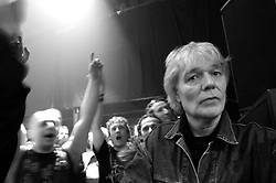 """BRUSSELS, BELGIUM - FEB-6-2006 - <br /> Alan Lee Shaw former guitar player for the legendary punk rock group """"The Damned"""". (PHOTO © JOCK FISTICK)"""