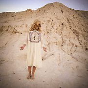 Conceptual portrait and self-portrait photographs taken in natural locations by Janelle Pietrzak aka Explored Exposure.