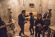 JAY JOPLING; ELIZABETH NEILSON, Okwui Enwezor and Vinyl Facorty hosted party at Ca'Sagredo, Campo Santa Sofia Venice Biennale, Venice. 5 May 2015