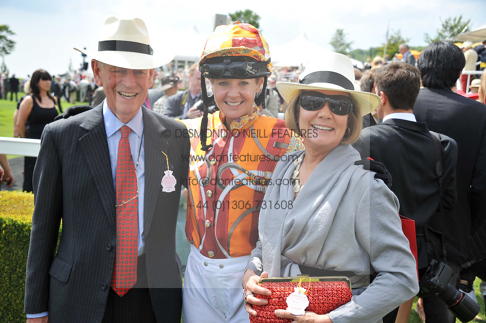Centre, KATE REARDON and  at the 3rd day of the 2011 Glorious Goodwood Racing Festival - Ladies Day at Goodwood Racecourse, West Sussex on 28th July 2011.
