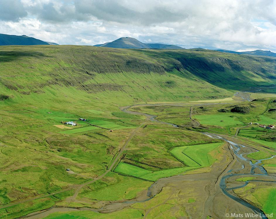 Hlíð séð til suðurs. Dalabyggð áður Hörðudalshreppur / Hlid viewing south, Dalabyggd former Hordudalshreppur.