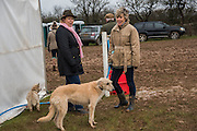 SARA CAYZER; LUCY MORRIS, + MYRTLE AND FIDDLE, The Heythrop Hunt Point to Point. Cocklebarrow. 24 January 2016