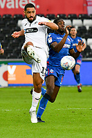 Football - 2018 / 2019 Sky Bet EFL Championship - Swansea City vs. Bolton Wanderers<br /> <br /> Cameron Carter-Vickers of Swansea City defends , at The Liberty Stadium.<br /> <br /> COLORSPORT/WINSTON BYNORTH