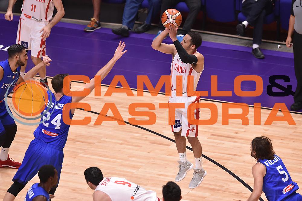 Michael Dixon Jr<br /> Nazionale Italiana Maschile Senior<br /> Eurobasket 2017 - Group Phase<br /> Georgia  Italia Georgia Italy<br /> FIP 2017<br /> Tel Aviv, 06/09/2017<br /> Foto Ciamillo - Castoria/ GiulioCiamillo