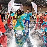 LONDON, ENGLAND - JANUARY 20:  Ensamble Dancers perform for The Big Dance 2010 Launch  at the Old Spitafields Market on January 20, 2010 in London, England. 10,000 people expected to take part in The Big Dance which will take place between July 3-11.  (Photo by Marco Secchi/Getty Images)