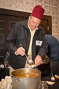 BEAN (FAVA), Vicia faba Showcase: 'Wapato'<br />Breeder: Anthony & Carol Boutard, Ayers Creek Farm Chef: Sam Smith, Tusk<br />Dish: Fava Bean Hummus w/ Cumin, Urfa & Aleppo<br />pepper and Parsley w/ Tusk Wholegrain Flatbread Chef: Kelly Myers, Xico<br />Dish: Blue Corn Tlacoyos with Wapato Fava Beans Chef: Linda Colwell<br />Dish: Kuromame