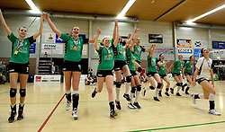 12-04-2014 NED: Finale vv Alterno - Sliedrecht Sport, Apeldoorn<br /> Alterno pakt het kampioenschap door Sliedrecht voor de derde maal te verslaan