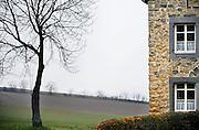 Nederland, Voerendaal, 24-1-2008De rode draed, het gehucht, dorpje, Winthagen.Foto: Flip Franssen/Hollandse Hoogte