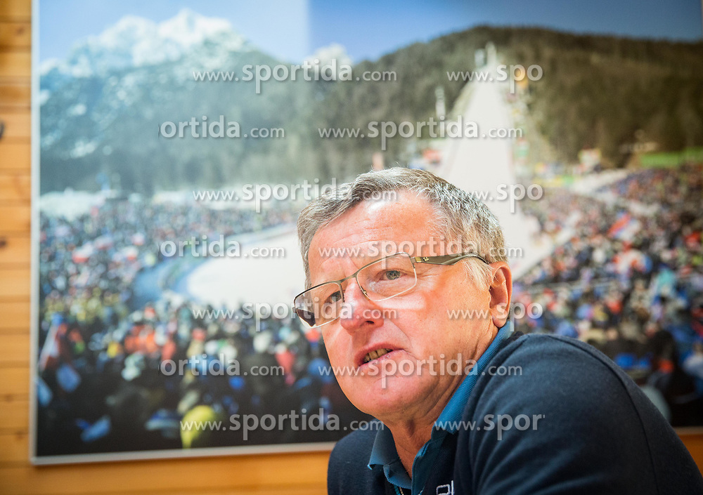 Primoz Finzgar one week before FIS Ski Flying World Cup, on March 14, 2017 in Planica, Slovenia. Photo by Vid Ponikvar / Sportida