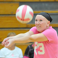 9.20.2012 Elyria Catholic at Midview Varsity Volleyball