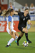 Rebekah Stott.<br /> Commerce City, Colorado - Friday September 15, 2017:  The USWNT takes on the New Zealand Women's National Football Team at Dick's Sporting Goods Park. Copyright photo: Jamie Schwaberow / ISI / www.photosport.nz