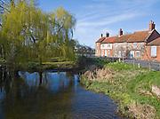 Burnham Overy Staithe, Norfolk, England Attractive old cottages, Burnham Overy Staithe, Norfolk, England