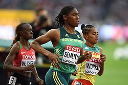 Caster Semenya of South Africa in action - Mandatory byline: Patrick Khachfe/JMP - 07966 386802 - 04/08/2017 - ATHLETICS - London Stadium - London, England - Women's 1,500m Round 1 - IAAF World Championships