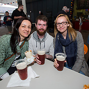 14.06.2018.             <br /> Limerick Food Group hosted the Urban Food Fest street food evening in the Milk Market on Thursday June 14th with a 'Summer Fiesta' theme in one big Limerick city summer party.<br /> <br /> Pictured at the event were, Ola Dobra,Chris Cassidy and Kinga Jarumin. Picture: Alan Place