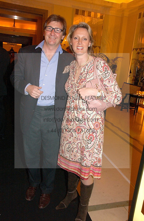 JOHN & ANOUSKA AYTON of Links of London at a reception for the winners of the 2006 Veuve Clicquot Award - Business Woman of the Year held at Claridge's Hotel, brook Street, London on 27th April 2006.  This years winner was Vivienne Cox, BP CEO for Gas, Power, Renewables and Integrated Supply & Trading.  The awards were presented by the Rt.Hon.Gordon Brown MP - The Chancellor of the Exchequer.<br /><br /><br />NON EXCLUSIVE - WORLD RIGHTS