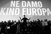 Protesting Action We Do not Give Cinema Europe