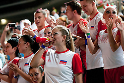 Russian fans at European Cheerleading Championship 2011, on July 2, 2011, in SRC Stozice, Ljubljana, Slovenia (Photo by Matic Klansek Velej / Sportida)