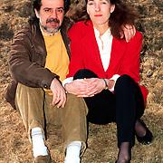 Nikos Ignatiados en vriendin