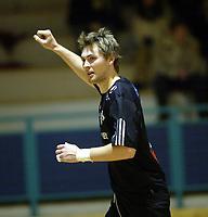 Håndball, 11. desember 2002. Eliteserien, Gildeserien herrer, Kragerø - Stord 25-32. Terje Tvedten, Stord