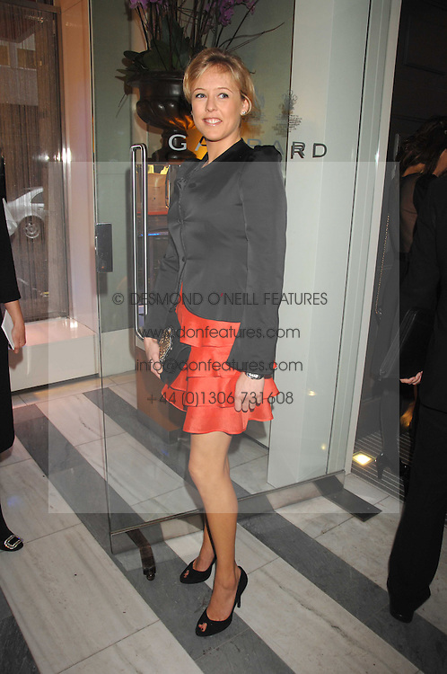LADY ALEXANDRA SPENCER-CHURCHILL at a preview of Garrard's new collections and celebrates a Kaleidoscope of Colour at Garrard, 24 Albemarle Street, London on 10th May 2007.<br /><br />NON EXCLUSIVE - WORLD RIGHTS