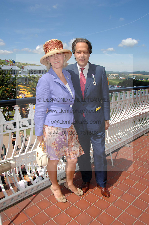 The EARL & COUNTESS OF MARCH at the 4th day of the Glorious Goodwood racing festival 2007 held at Goodwood Racecourse, West Sussex on 3rd August 2007.<br /><br />NON EXCLUSIVE - WORLD RIGHTS