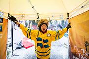 &Ouml;STERSUND, SVERIGE - 2017-12-02: Sevenskt Fans  under herrarnas sprint t&auml;vling under IBU World Cup Skidskytte p&aring; &Ouml;stersunds Skidstadion den 2 december 2017 i &Ouml;stersund, Sverige.<br /> Foto: Johan Axelsson/Ombrello<br /> ***BETALBILD***