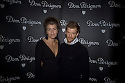 Amber Nuttall and Tom Aikens, Dom Perignon and Claudia Schiffer host a celebration of Dom Perignon Oenotheque 1995. The Landau, Portland Place. London W1. 26 February 2008.  *** Local Caption *** -DO NOT ARCHIVE-© Copyright Photograph by Dafydd Jones. 248 Clapham Rd. London SW9 0PZ. Tel 0207 820 0771. www.dafjones.com.