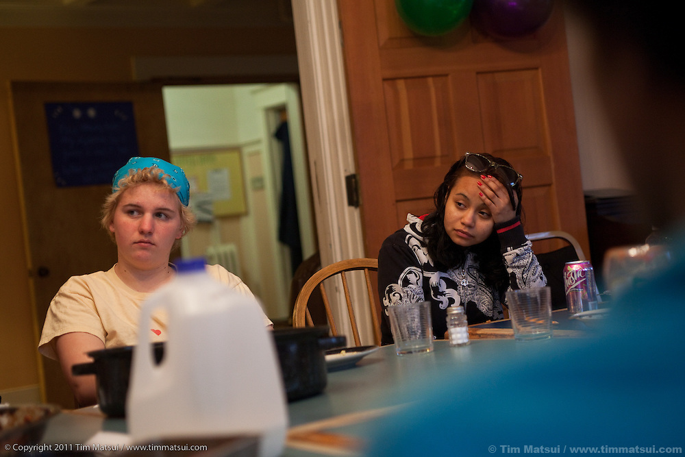 Residents of the Isis House, a GBLTQ home for youth in transition from homelessness. Run by YouthCare.