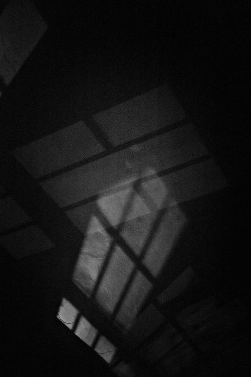 Shadows on ceiling at night