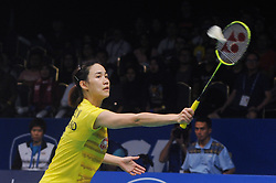 June 16, 2017 - Jakarta, DKI Jakarta, Indonesia - JAKARTA, INDONESIA - JUNE 16: Nitchaon Jindapol of Thailand compete against Tai Tzu Ying of Taiwan during Women Single Quarterfinal match of the BCA Indonesia Open Super Series 2017 on June 16, 2017 in Jakarta, Indonesia. Nitchaon Jindapol win 21-19, 8-21 and 21-17..Photo by Pey Hardi Subiantoro/Sijori Images (Credit Image: © Sijori Images via ZUMA Wire)