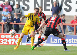 Matty Taylor - Mandatory byline: Neil Brookman/JMP - 07966 386802 - 03/10/2015 - FOOTBALL - Globe Arena - Morecambe, England - Morecambe FC v Bristol Rovers - Sky Bet League Two