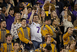 LSU Fans NCAA college football game Thursday, Nov. 24, 2016, in College Station, Texas. (Sam Craft/The Eagle)