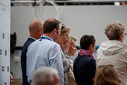 Arns-Krogmann, Christine (GER);<br /> Arns-Krogmann, Frank (GER);<br /> Leyen, Ursula von der (Bundesverteidigungsminister);<br /> Winter-Schulze, Madeleine (GER), <br /> Aachen - CHIO 2017<br /> Grand Prix Kür, Grosser Dressurpreis von Aachen<br /> © www.sportfotos-lafrentz.de/Stefan Lafrentz