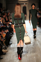 Victoria Beckham show at New York Fashion Week AW 2012, Sunday , February 12th 2012.  Photo by: Stephen Lock / i-Images