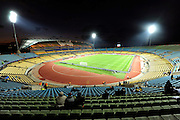 The Royal Bafokeng Stadium in Rustenburg, Phokeng, South Africa. Venue for the FIFA Confederations Cup South Africa 2009 and the FIFA World Cup South Africa 2010